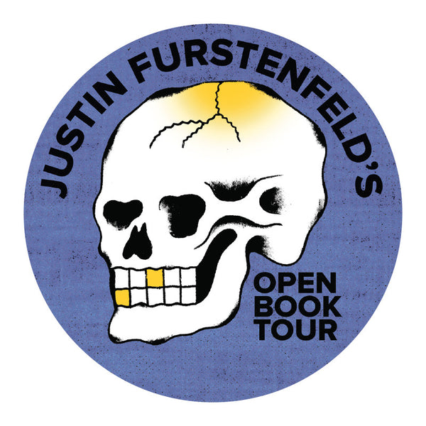 Justin Furstenfeld - Open Book 2017 Tour Sticker