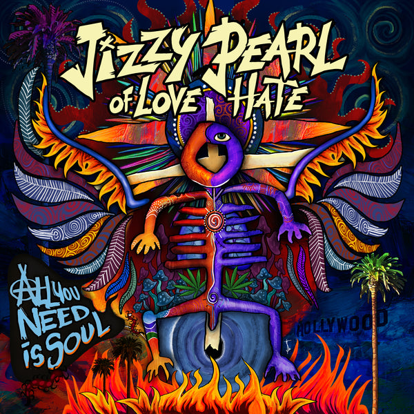 Jizzy Pearl - All You Need Is Soul CD (PRESALE - EARLY OCT)