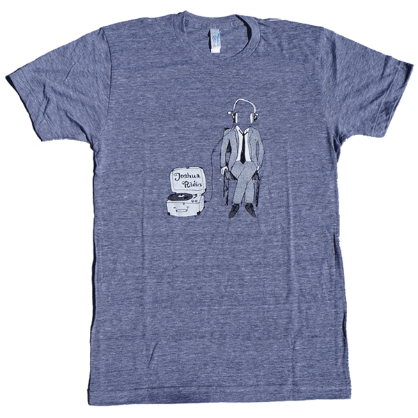 Joshua Radin - Sitting Record Player Tee (Gray)