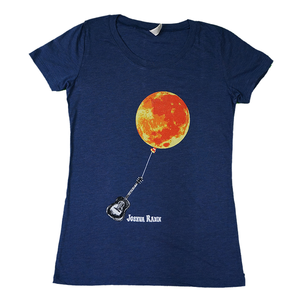 Joshua Radin - Onward and Sideways Moon Ladies Tee