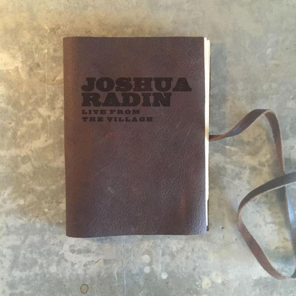 Joshua Radin - Live From The Village Lyric Notebook