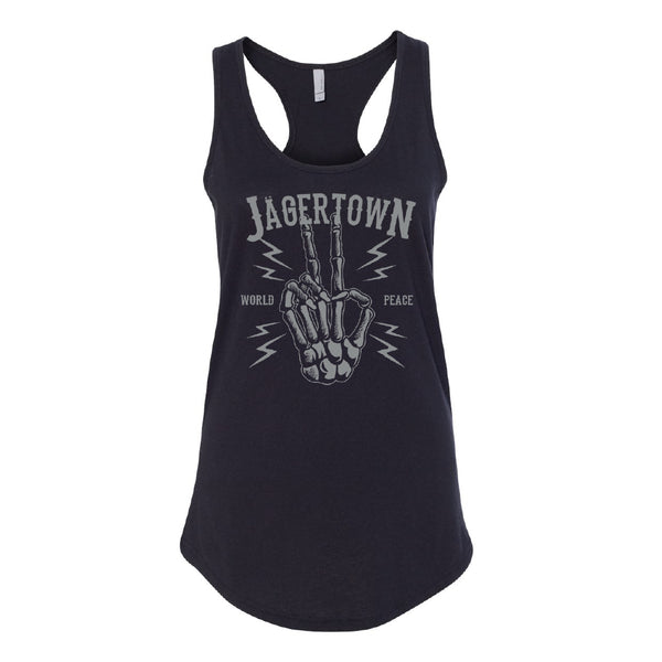 Jagertown - Peace Womens Tank Top