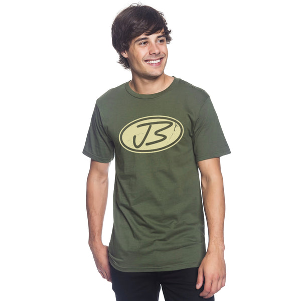 Jody Booth - Distressed Logo Tee (Green)