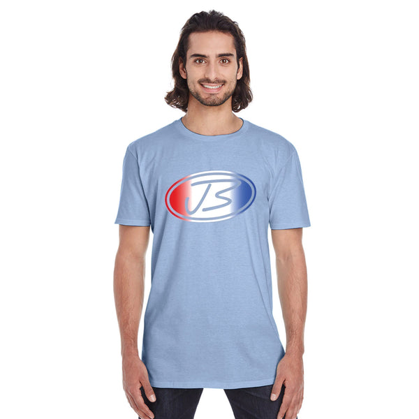 Jody Booth - JB Logo Tee (Light Blue) - CLEARANCE