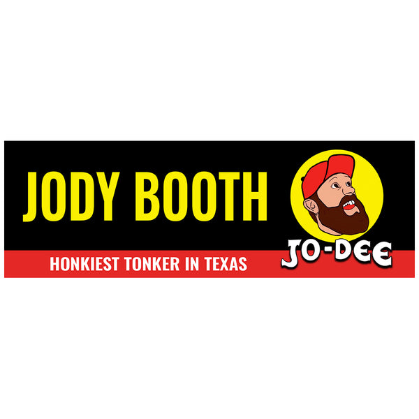 Jody Booth - Jo-Dee Bumper Sticker