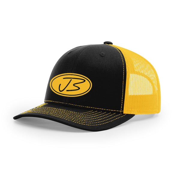 Jody Booth - 3D Logo Cap (Black & Gold)