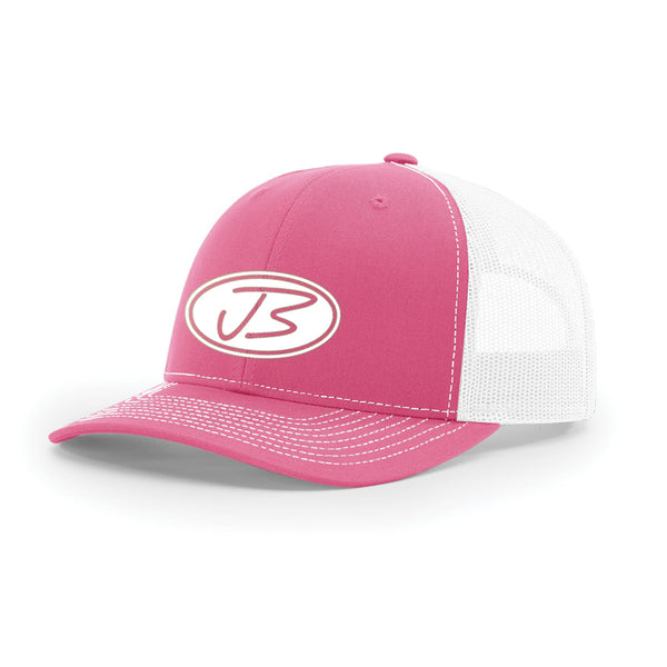 Jody Booth - 3D Logo Cap (Hot Pink & White)