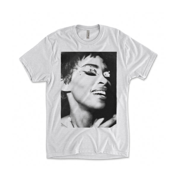 Jody Watley - Metallic Eyes Tee (White)