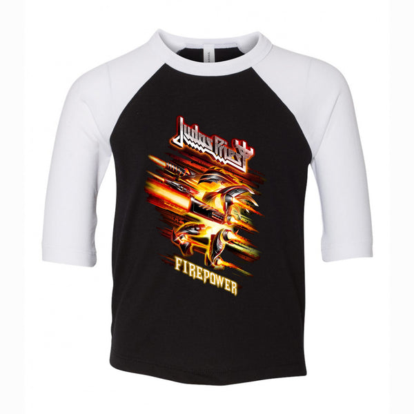 Judas Priest - Firepower 3/4 Sleeve Jersey