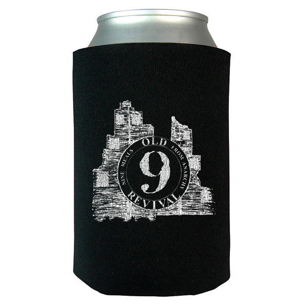 The Old Revival - 9 Meals From Anarchy Koozie