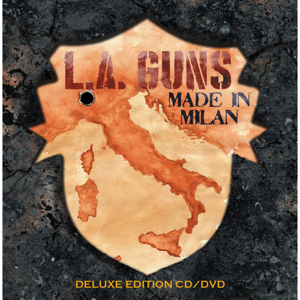 L.A. Guns - Made In Milan CD/DVD