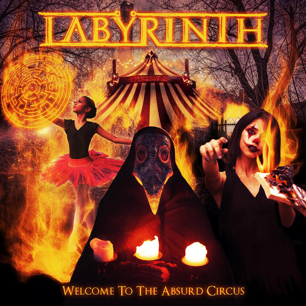 Labyrinth - Welcome To The Absurd Circus CD (PRESALE 01/22/21)