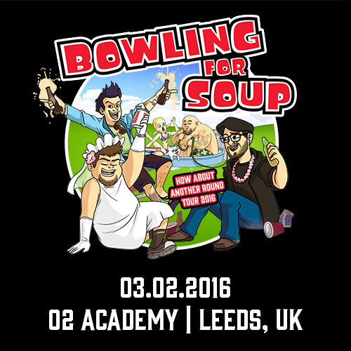 Bowling For Soup - UK Live Show Download - 03/02/16 Leeds