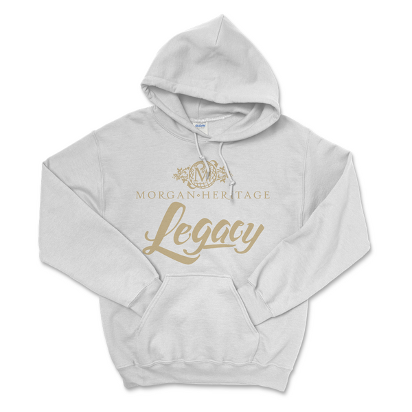 Morgan Heritage - Legacy Hoodie - White (PRESALE Mid-June)