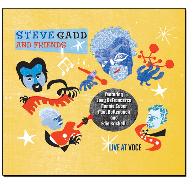 Steve Gadd and Friends - Live at Voce CD (Deluxe Edition - 2010)
