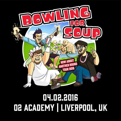 Bowling For Soup - UK Live Show Download - 04/02/16 Liverpool