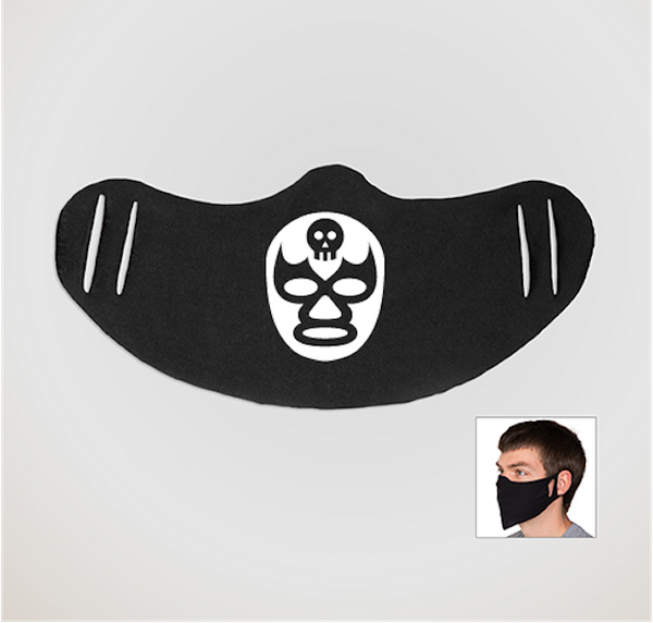 Longear - Luchadores Logo Cloth Face Coverings