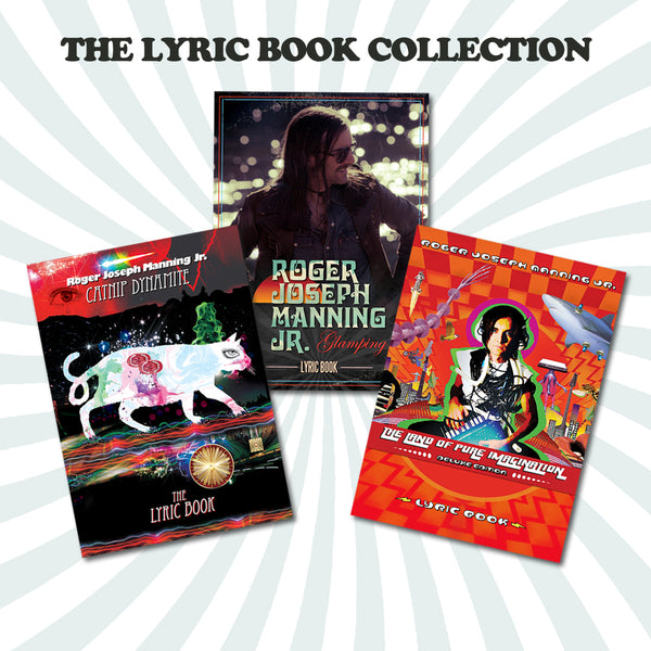 Roger Joseph Manning Jr. - Lyric/Art Book Bundle