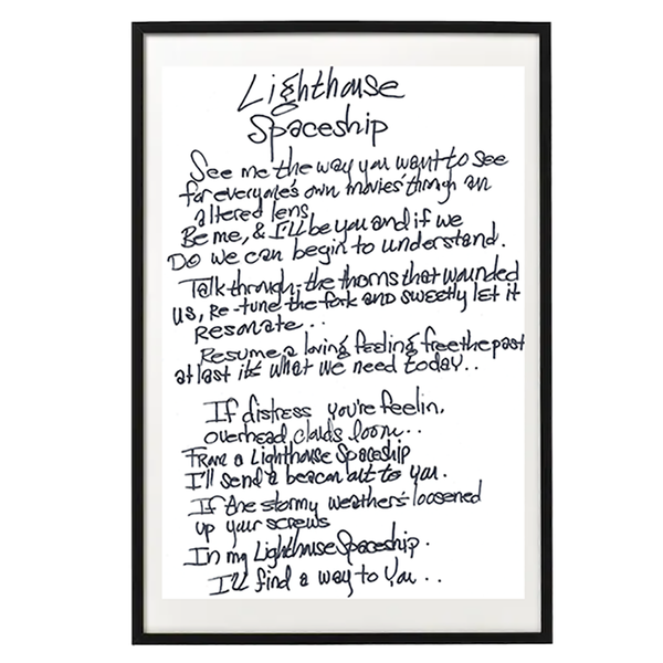 The Lickerish Quartet - Handwritten and Personalized Lyrics