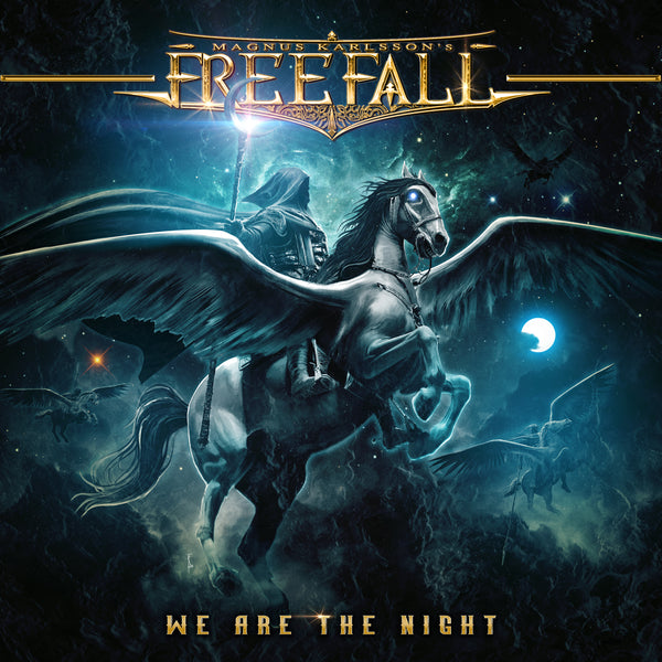 Magnus Karlsson's Free Fall - We Are The Night CD (PRESALE 06/12/20)