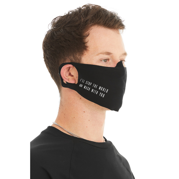"Modern English - ""Mask With You\"" Face Mask"