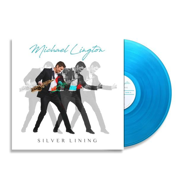 Michael Lington - Limited Edition Silver Lining Blue Swirl Vinyl