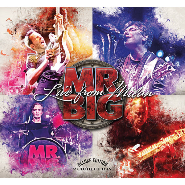 Mr Big - Live From Milan Blu-Ray