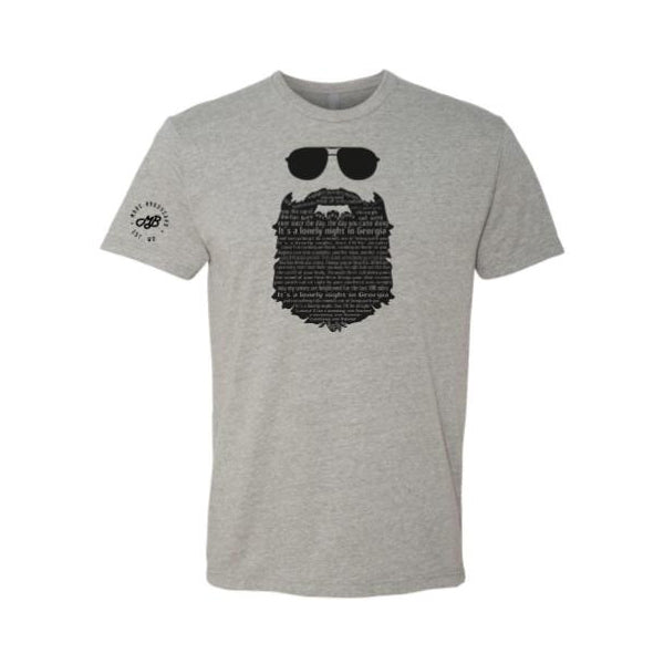 Marc Broussard - Beard Lyric Tee (PRESALE 10/01/19)