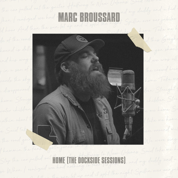 Marc Broussard - Home: The Dockside Sessions Autographed CD (PRESALE 11/25/19)