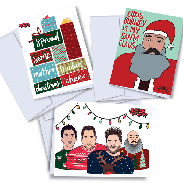 Bowling For Soup - Complete Holiday Card Set