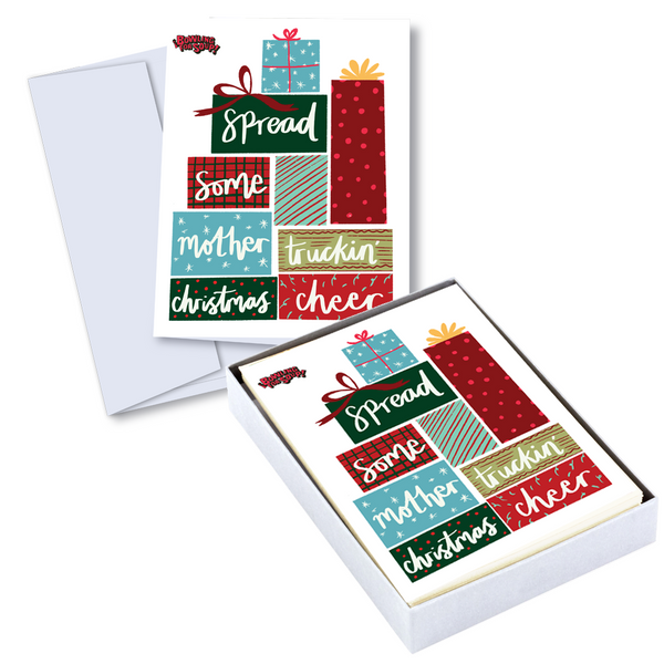 Bowling For Soup - Merry Truckin' Christmas Holiday Card Set