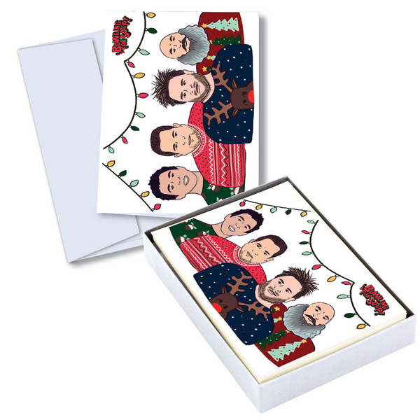 Bowling For Soup - Ugly Sweater Holiday Card Set