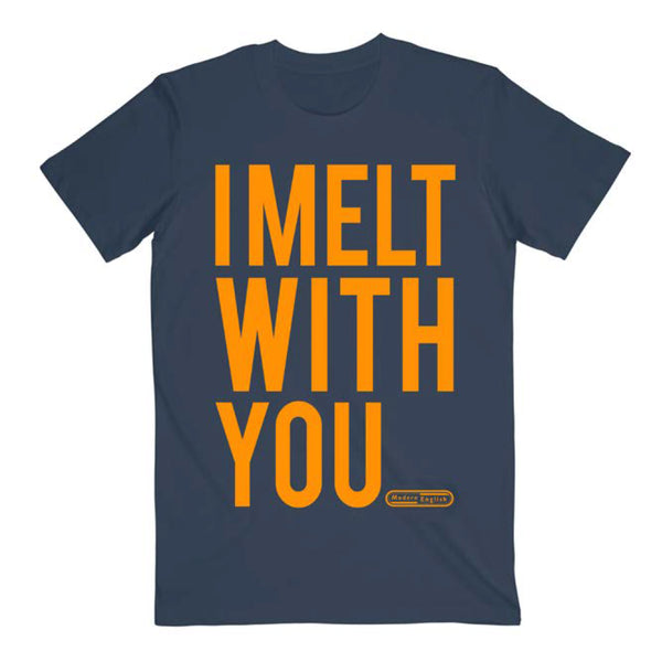 Modern English - I Melt With You Tee (Navy)
