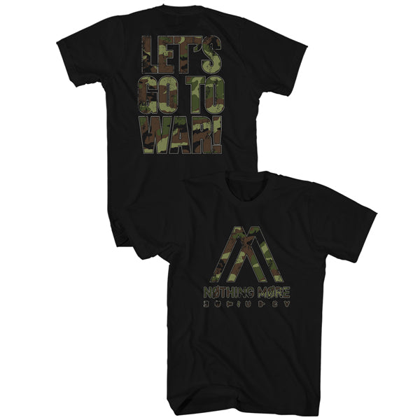 Nothing More - Camo Go To War Tee