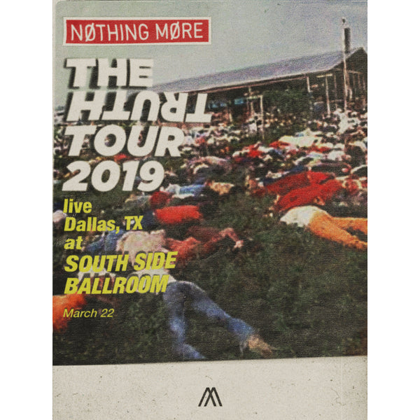 Nothing More - Truth Tour Poster (Signed & Numbered)