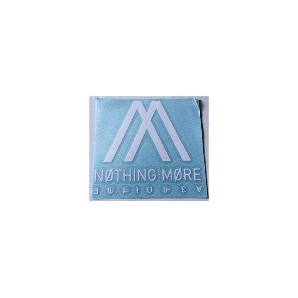 Nothing More - Logo Die Cut Decal