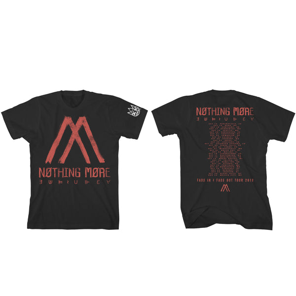 Nothing More - Fade In Fade Out Symbols 2019 Tour Tee