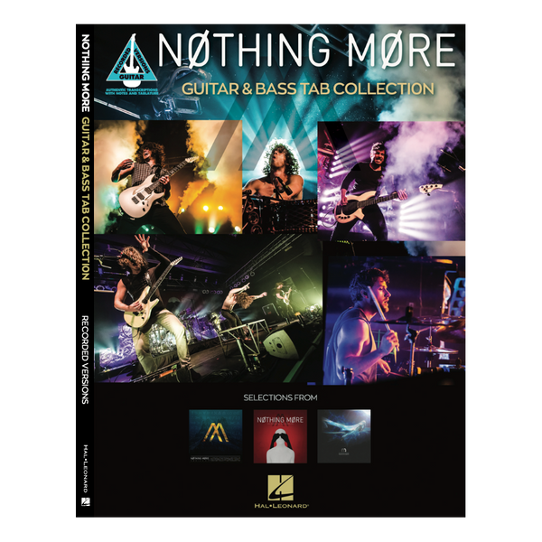 Nothing More - Nothing More - Guitar  and  Bass Tab Collection