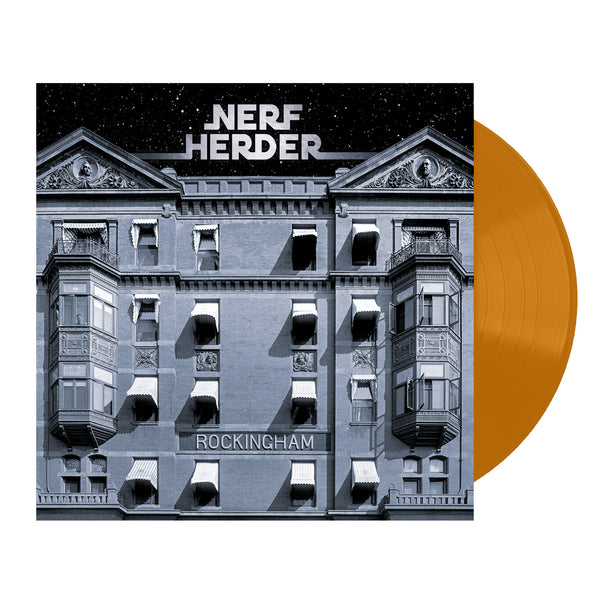 Nerf Herder - Autographed Rockingham Orange LP