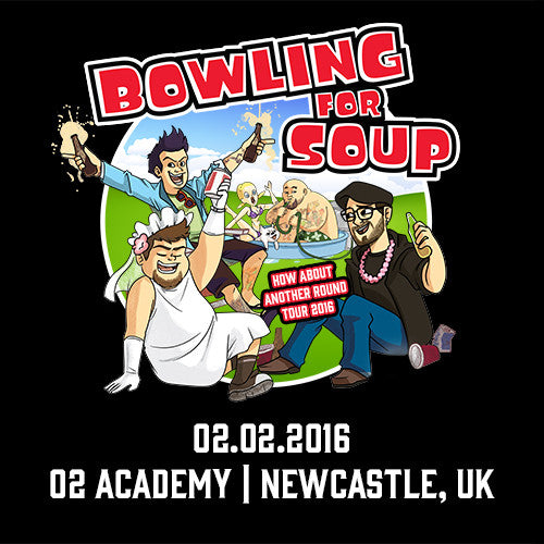 Bowling For Soup - UK Live Show Download - 02/02/16 Newcastle