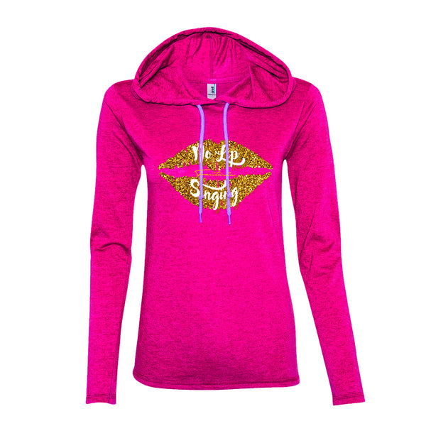 Fantasia - No Lip Singing Hoodie (Pink)