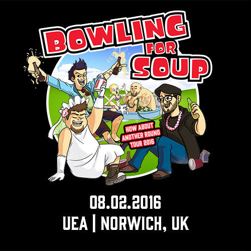 Bowling For Soup - UK Live Show Download - 08/02/16 Norwich