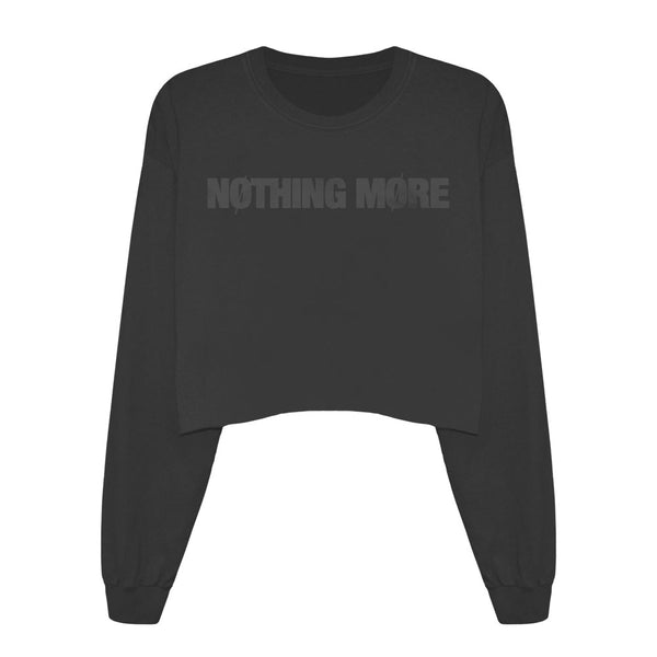 Nothing More - Sweatshirt - Distressed Logo (Female Sizing)