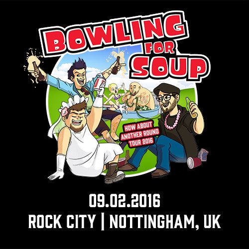 Bowling For Soup - UK Live Show Download - 09/02/16 Nottingham