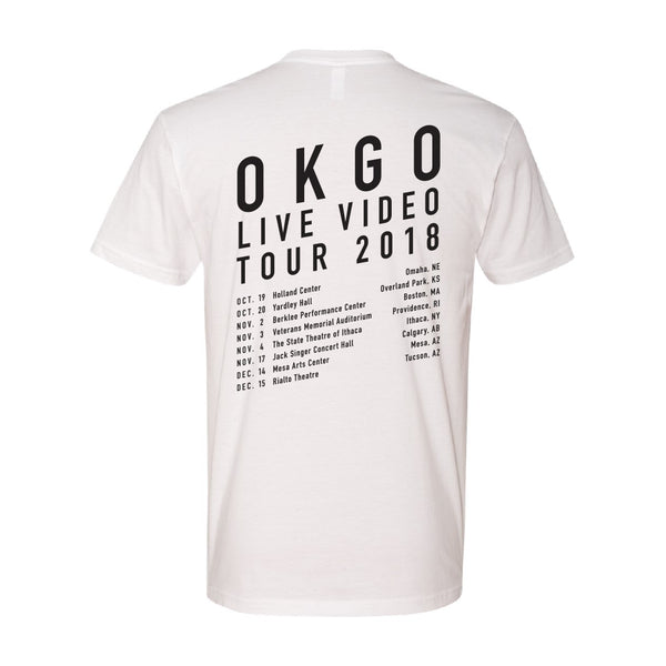 OK Go - 2018 Tour Tee (White)