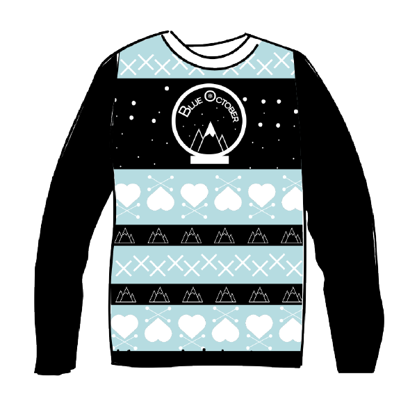 Blue October - Snow Globe Winter Sweater