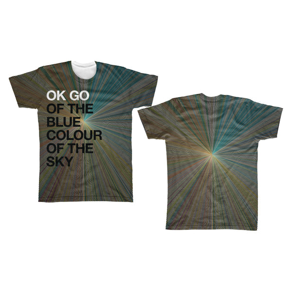 OK Go - Of The Blue Colour Of The Sky All Over Print Tee (PRESALE 03/30/20)