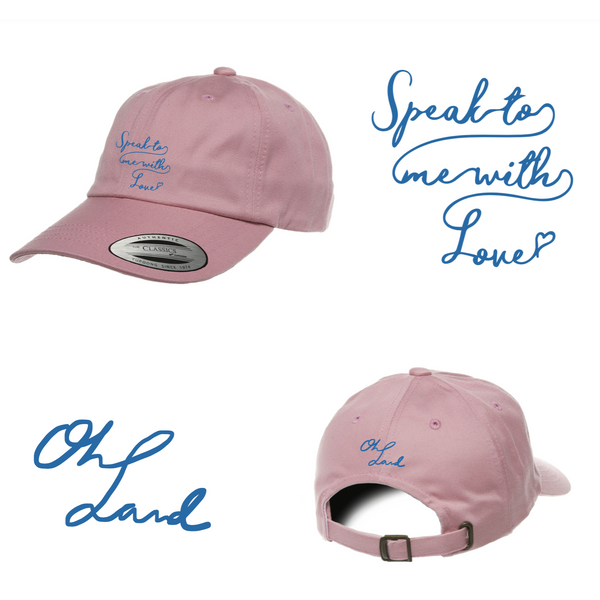 Oh Land - Dad Hat (Pink)