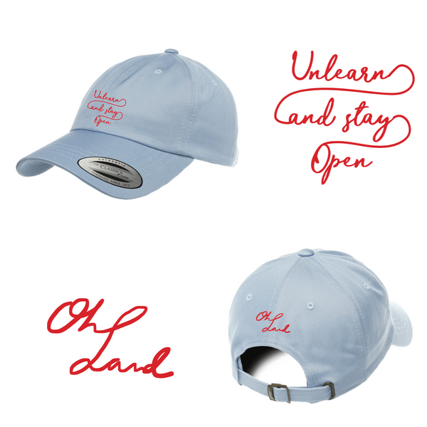 Oh Land - Dad Hat (Powder Blue)