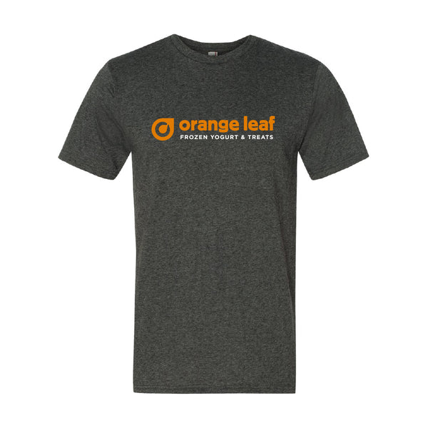Orange Leaf Austin Uniform Store - Uniform Tee (Dark Heather Grey)